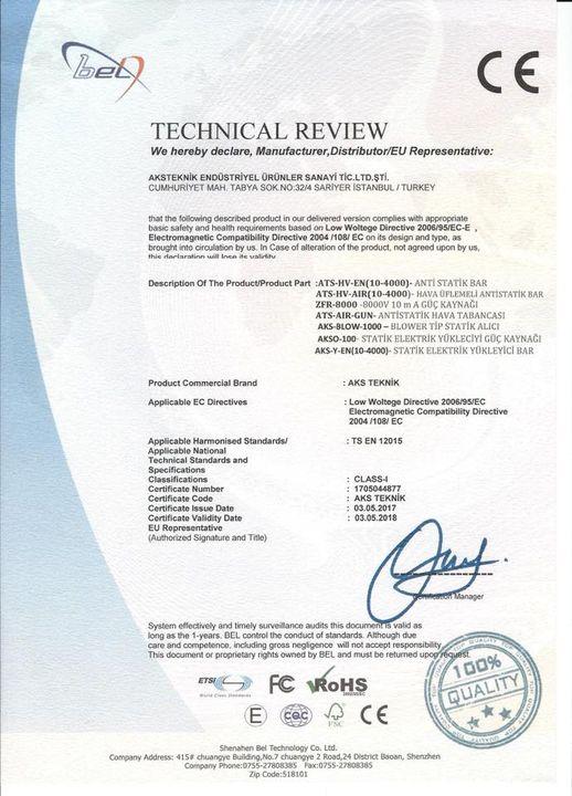 Aks Teknik End. Ürünler Sis. Otom. San. Tic. Ltd. Şti.