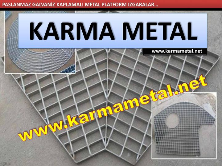 Galvanizli Çöp Konteyneri-Karma Metal