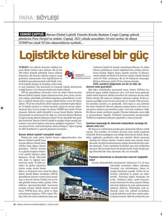 Barsan Global Lojistik A.Ş.