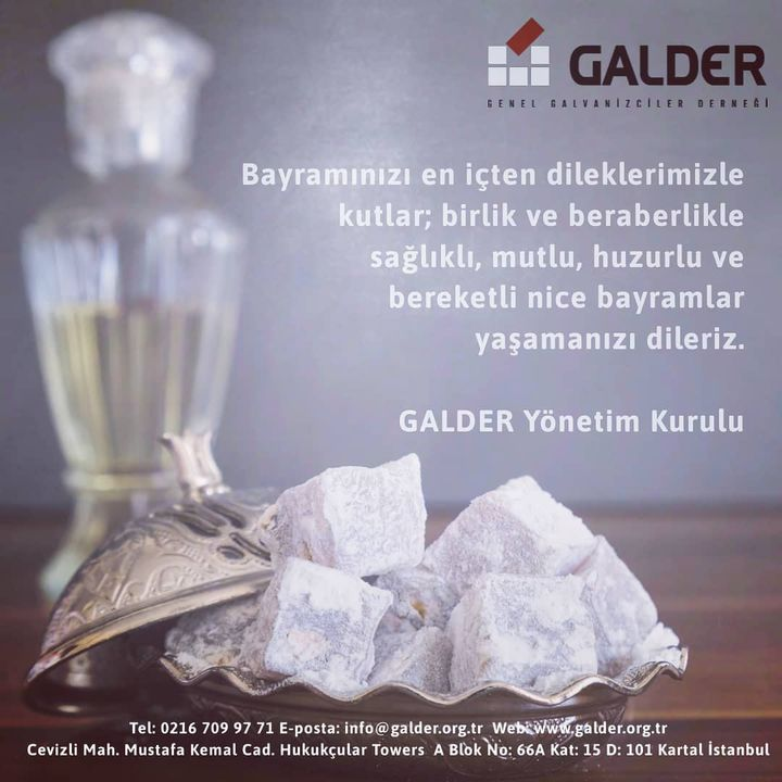 Galder – Genel Galvanizciler Derneği