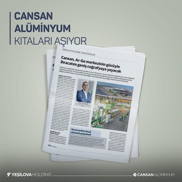 Cansan Alüminyum San. ve Tic. A.Ş.